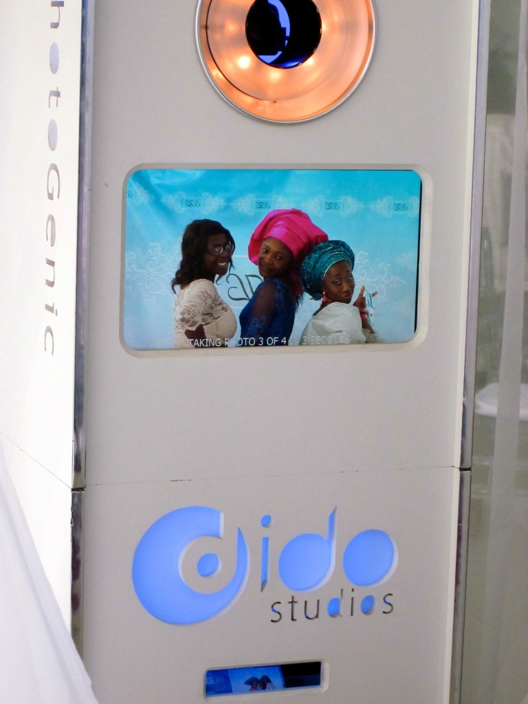 Photo Booth for weddings in Lagos Nigeria