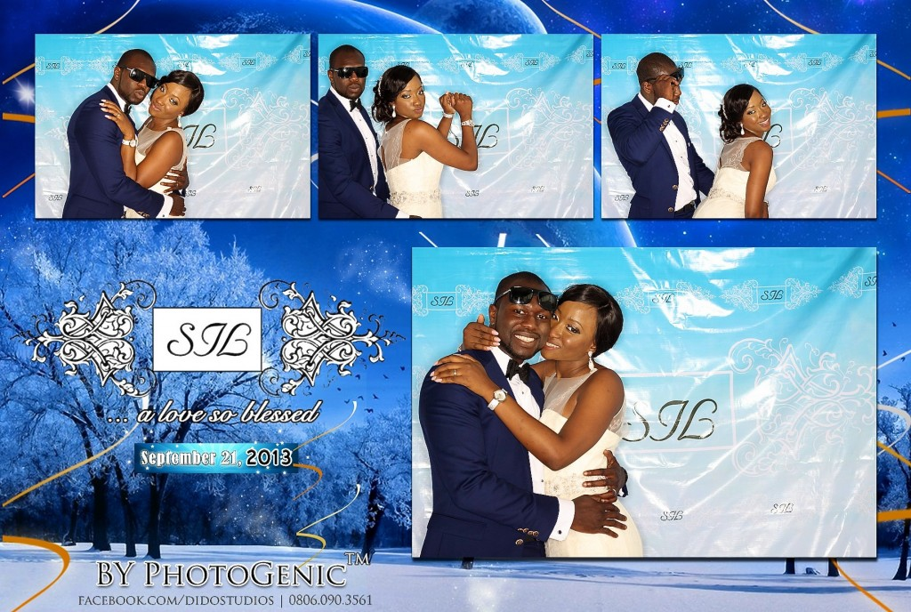 photobooth wedding in nigeria