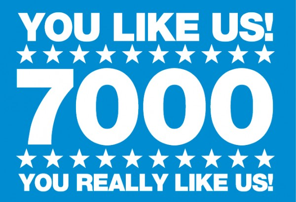 Exciting PhotoBooth News: PhotoGenic Gets 7000 FaceBook LIKES!!!