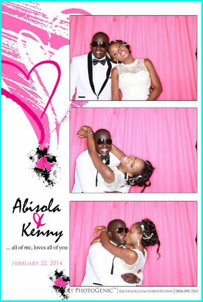 hotoGenic Photo Booth in Lagos Nigeria event