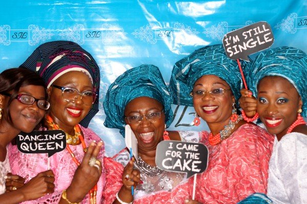 Photo Booth is nigeria wedding