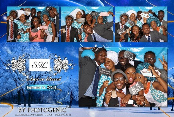 photo booth in lagos wedding