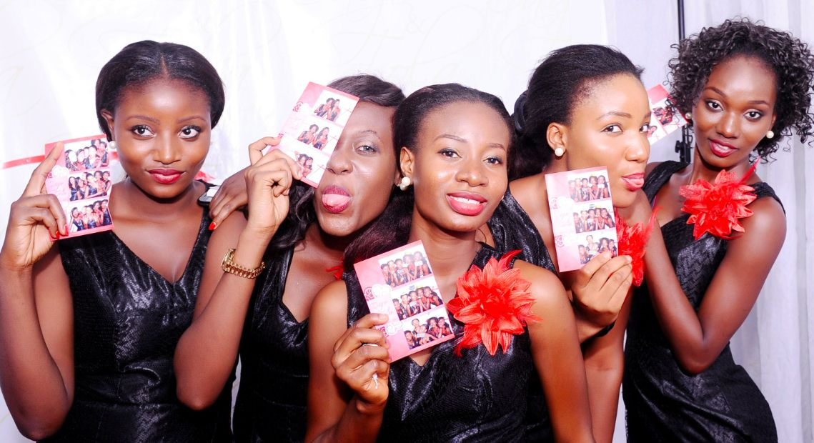 Brides with Photo Booth Pictures by PhotoGenic Lagos