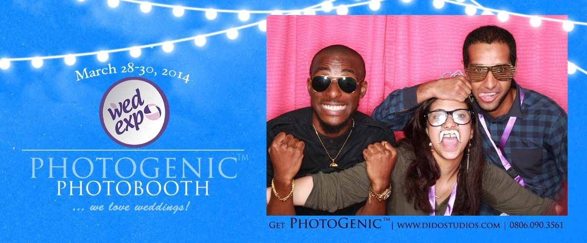 Photo Booth was a dazzling EXPERIENCE at WED Expo Lagos