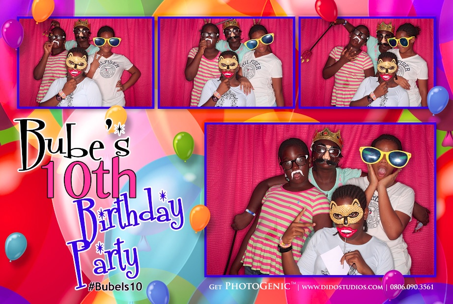 birthdays photo booths abuja lagos