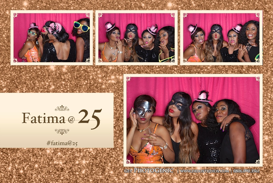 photo booth party celebration for birthdays