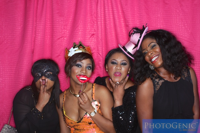 photo booth fun in lagos club party