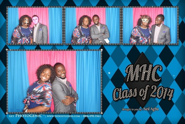 graduation prom photo booth party lagos