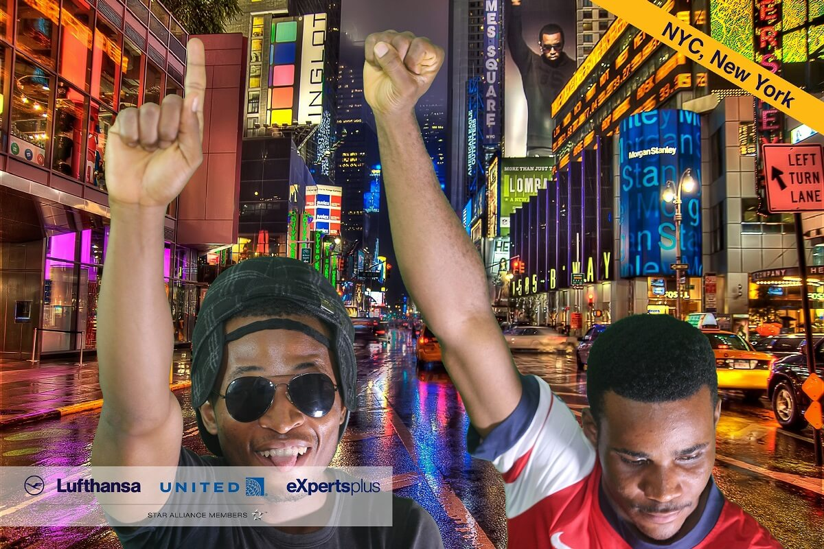 photo booth lagos to New York Green Screen