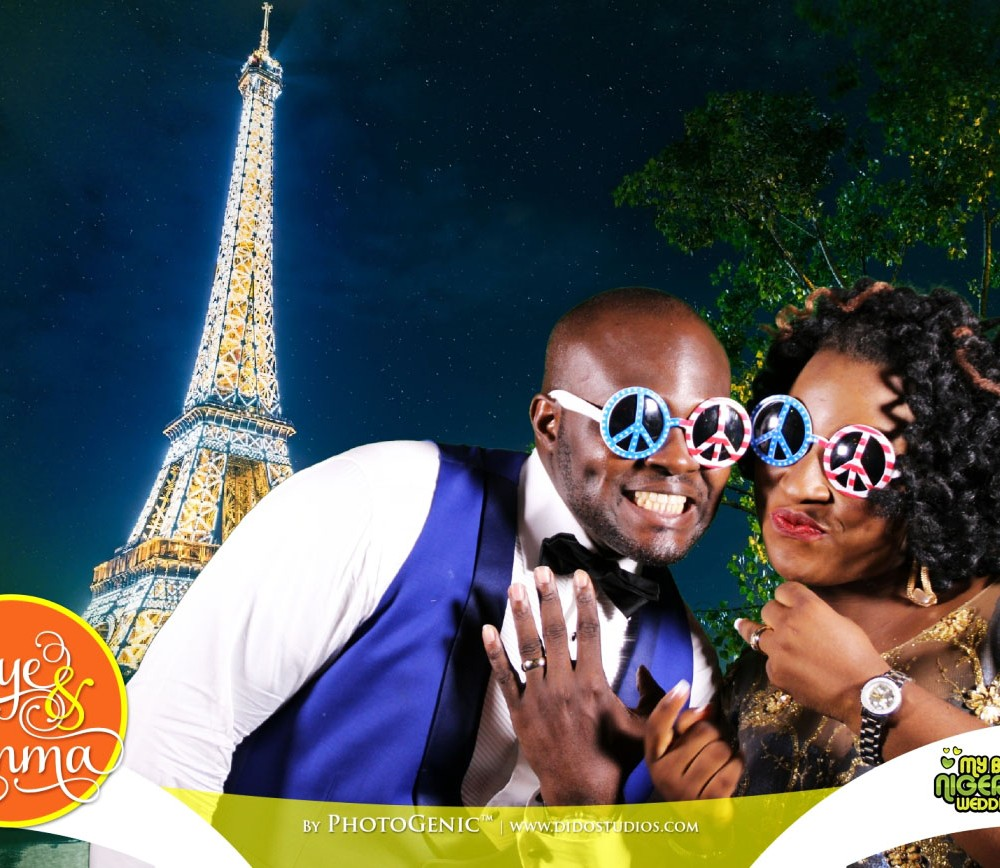 Green Screen Wedding Booth Lagos
