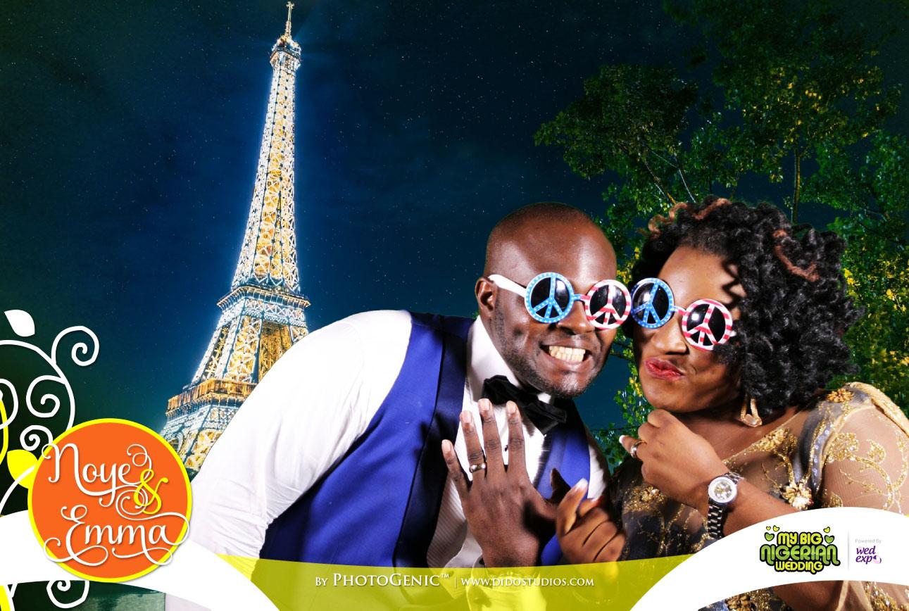 Green Screen Wedding Booth Lagos