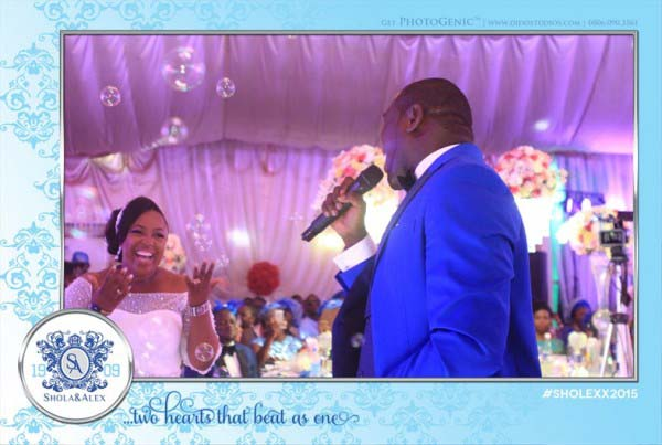 PhotoGenic PhotoBooth Fairies Photography Wedding Lagos