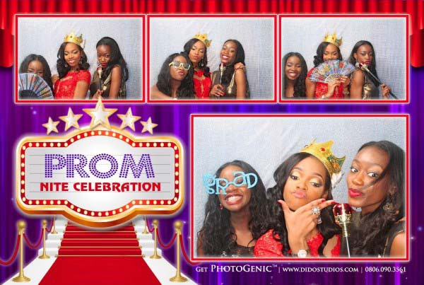 Prom Party Photo Booth Nigeria