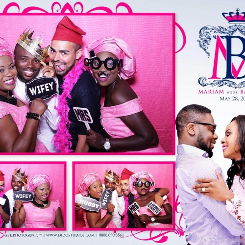 pink backdrop for photo booth nigeria