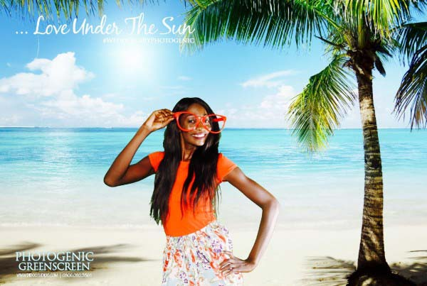 greenscreen photo booth nigeria beach party