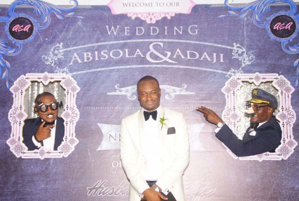 Interactive photo booth backdrop nigeria