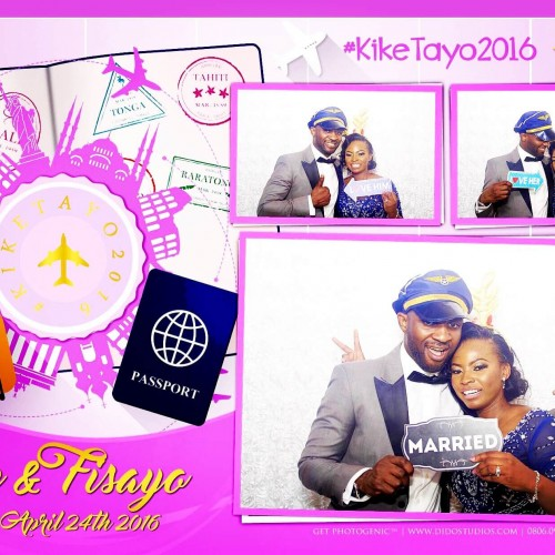 Travel airline theme Photo Booth nigeria