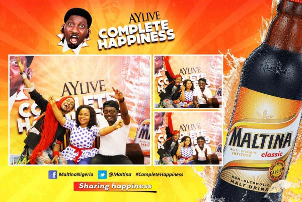 photo booth AYLIVE activation abuja