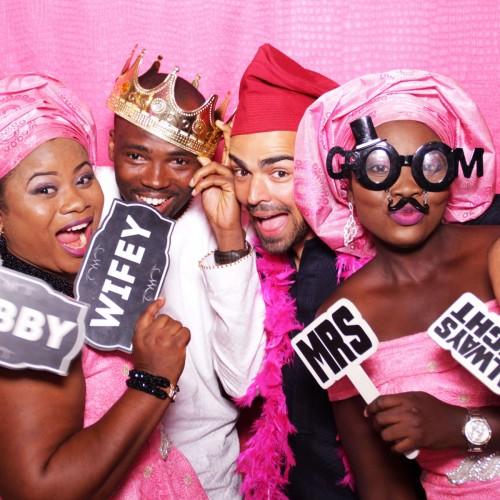 Photo Booth Backdrop for Wedding Lagos