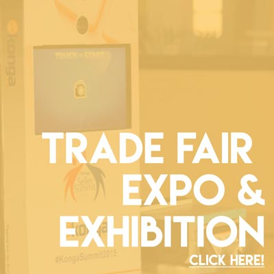 Photo Booth for Fairs Exhibition Expo