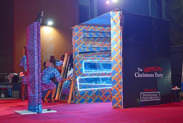 photo booth in Theme Party Lagos