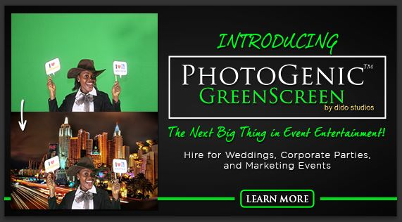 photo booth greenscreen in port harcourt nigeria