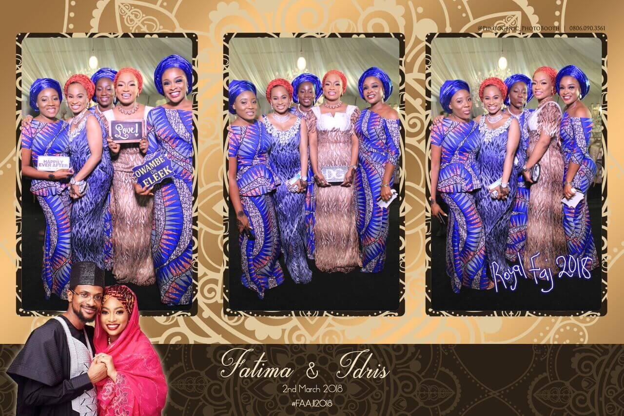 Mirror Photo Booth Weddings – Fatima and Idris