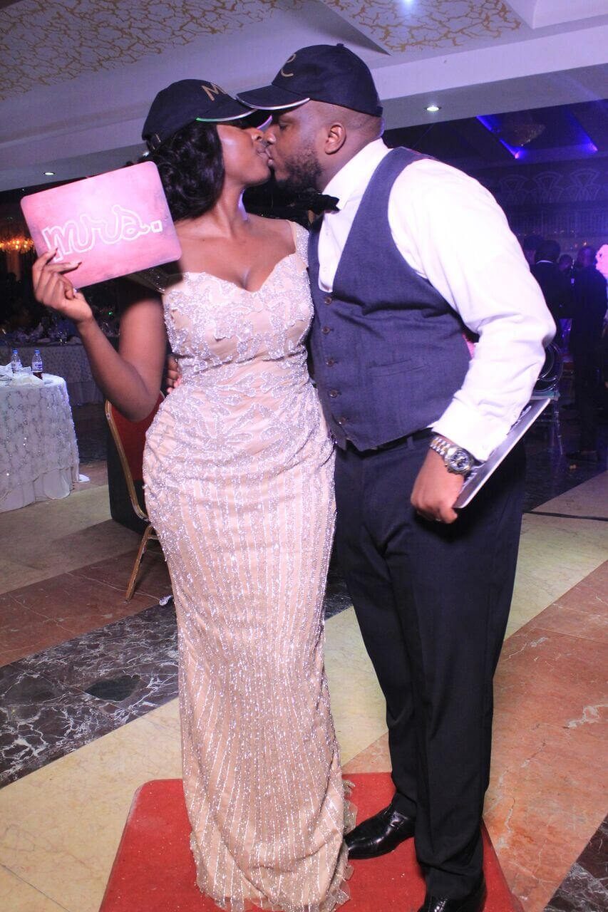 #PhotoBoothWeddings: See Pictures From Joke And Tope's Wedding