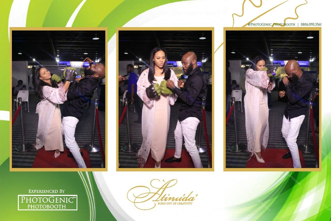Our Fav Pictures and Videos From The Atinuda Photo Booth Experience